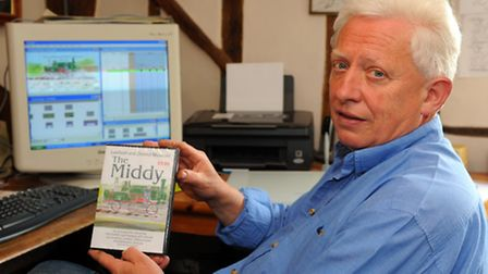 Hedley Griffin from Laxfield who has made an eight minute animated DVD about the Mid-Suffolk Light R