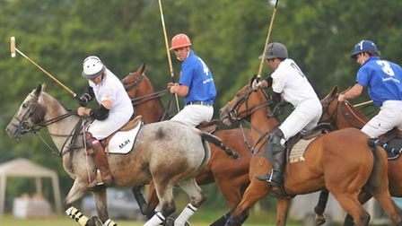 Action on and off the field at Norfolk Polo Festival, Langley Abbey, near Loddon. Photo: Steve Adams