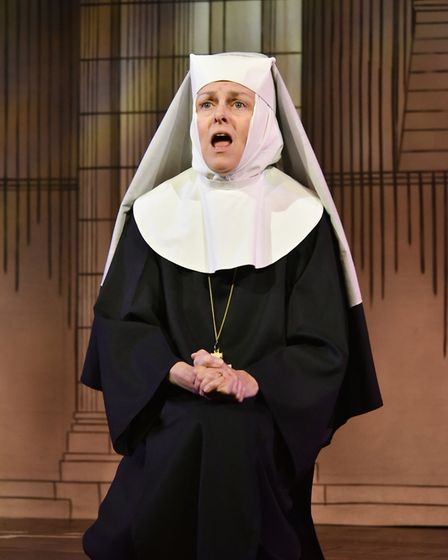 Sister Act by Exmouth Musical Theatre Company. Picture: Alan DaBreo - Exmouth Photo Services