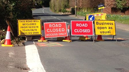 West Hill, Budleigh Salterton, will be subjected to phased closures. Picture: Dan Wilkins
