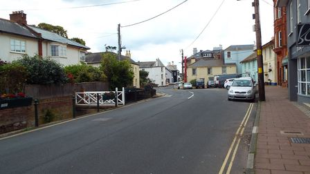 The almost deserted main street on Monday, June 10. Picture: Philippa Davies