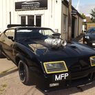 The Ford Falcon police interceptor, said to have been one of the cars used in the first Mad Max film