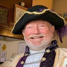 Exmouth town crier Roger Bourgein