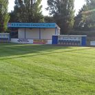 Exmouth Town's Southern Road pitch looking in prisitine conditin in mid June.Picture MARTIN COOK