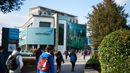 Exeter College''s next Open Event takes place on Thursday October 17 from 5-8pm. Photo credit: Exete