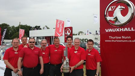 Vauxhall retailer Thurlow Nunn won the award for best trade stand at the Royal Norfolk Show.