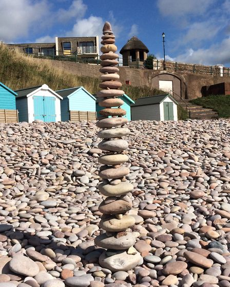 We came across this fantastic piece of engineering near Steamer Steps, Budleigh, recently - must hav