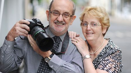 Gordon and Mary Olley are closing the Breckland Photographic studio after 24 years in Dereham. Pictu