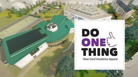 The Deaf Academy and the Exmouth Journal are teaming up for a fundraising campaign. Picture: Deaf Ac