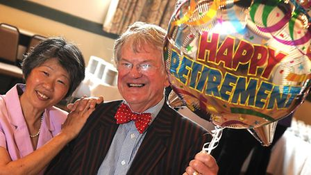 Dr Keith Harrison, a senior partner at Aylsham's Market Surgery, is retiring after 33 years. Picture