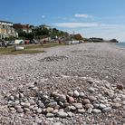 The beach at Budleigh Salterton. Ref exb 29-16TI 4646. Picture: Terry Ife