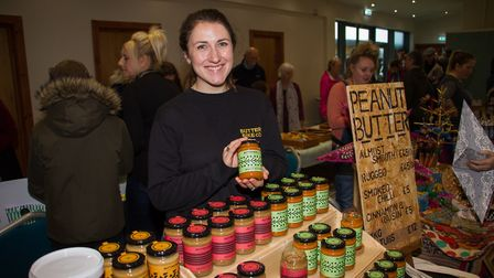 Exmouth's first vegan market at The Ocean. Ref exe 45 19TI 3310. Picture: Terry Ife