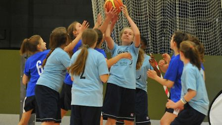 The Norfolk Summer School Games start at the Norwich Sportspark with basketball, athletics and wheel