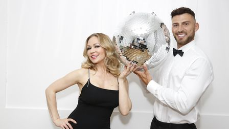 Kristina Rihanoff and Jake Quickenden of Dance to the Music. Picture: Andy Barnes and Backgrid