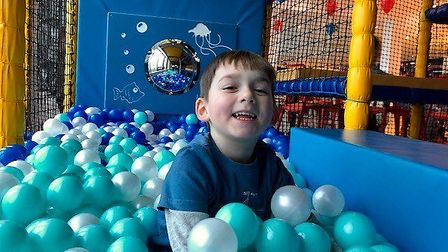 Youngsters under the age of five are now enjoying the soft pay facilities at Ocean Exmouth. Picture: