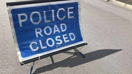 Police have closed the B3174.