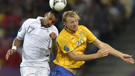 Ola Toivonen reportedly until the end of the week to decide on a switch to Norwich City. Picture: AP