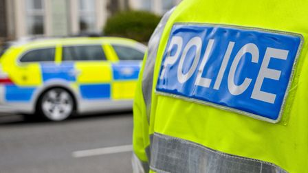 A collision on a busy road near Exmouth is causing queues.