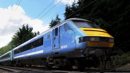 Trains on the Norwich to Cambridge line are delayed.
