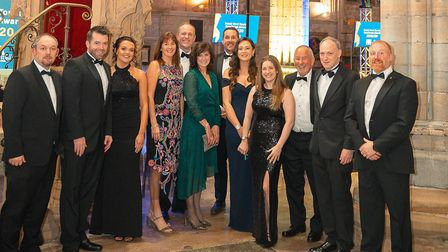 Staff from Ladram Bay at the South West Tourism Excellence awards. Picture: Nick Williams Photograph