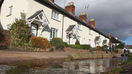 exe Cottages at Otterton