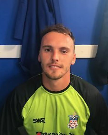 Robbie Powell will make a welcome return to the Exmouth Town goal in Saturday's Southern Road meetin