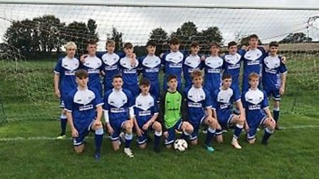 Exmouth Town Under-16s. Picture: ETFC