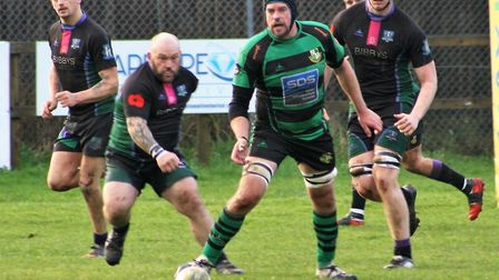 Action from the Withycombe win at New Cross. Picture: JIM DAVIS