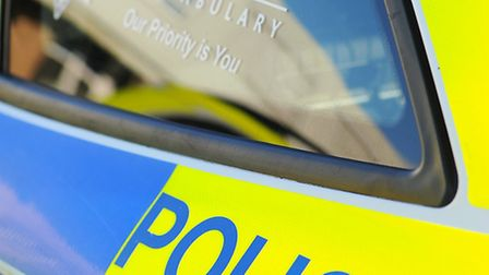 Generic image of a police vehicle / police car badge. January 2012 Picture: James Bass