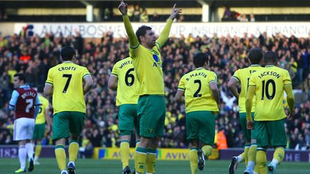Grant Holt leaves Carrow Road having scored 78 goals in 168 games for Norwich City.