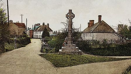 The Pound Memorial, Woodbury. Picture: Courtesy of Roger Stokes