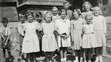 A class at Woodbury school taken around 1949/1950. Picture: Courtesy of Roger Stokes