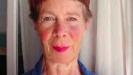 Celie Imrie shows her support for local theatre Picture: Northcott Theatre