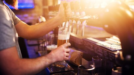 Pubs were able to reopen from July 4 in England following an easing of coronavirus restrictions. Pic