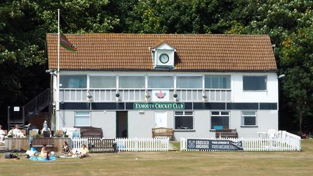 Action from Exmouth Cricket Club playing an inter-club T20 Competition. Picture: Sam Cooper
