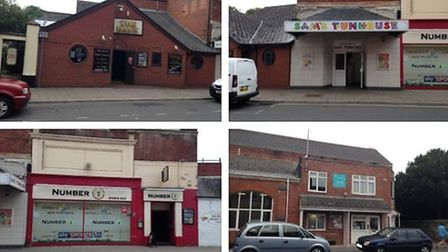 The Bank, Number 9, and Sam's Funhouse could all be demolished to make way for 31 flats. Picture: Go