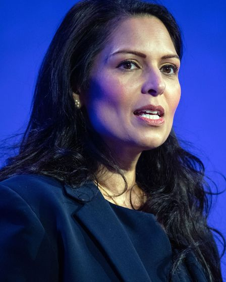 File photo dated 26/2/20 of Home Secretary Priti Patel has confirmed plans for a health and care vis