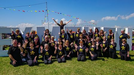 Exeter and East East Devon Rock Choir at the Exmouth Festival in 2019. Picture: Mike Hewitt