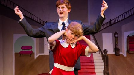 A scene from Annie Jr by Blackmore Youth Theatre last year, Picture: Jules Allen