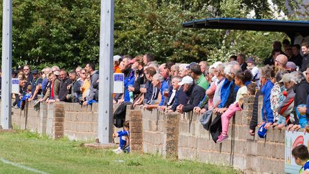 Exmouth Town at home to Barnstaple in a FA Cup game. Ref exsp 33 19TI 0111. Picture: Terry Ife