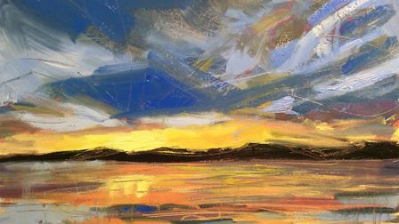Exe Estuary - a painting by Laura Boyd