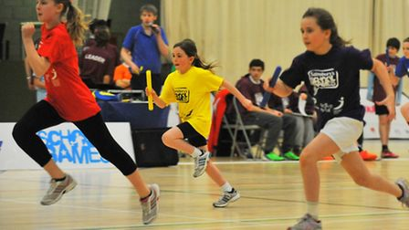 The Winter School Games takes place at the Sportspark where swimming, hockey, table tennis and sport