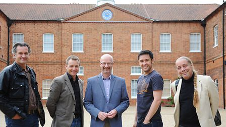 BBC Gardener's Question Time was recorded at Gressenhall Museum. Pictured (from left) are Matthew Wi