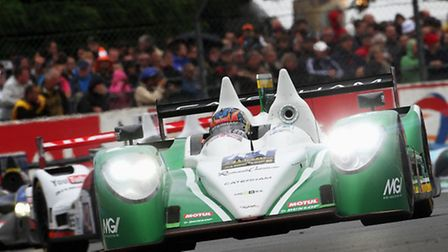 Hingham's Caterham had a mixed time of it on their Le Mans 24-hours debut.