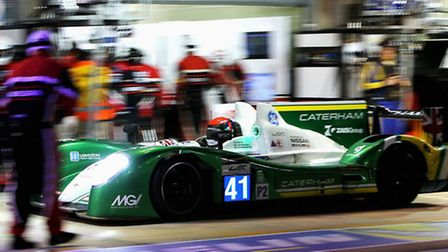 Caterham came home 11th on their Le Mans 24-hours debut with Greaves Motorsport.