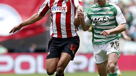 Tom Adeyemi is relishing the chance to establish himself in the Championship at Birmingham. Picture: