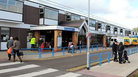 General view of the James Paget University Hospital at Gorleston, Norfolk; October 2011; Picture: James Bass