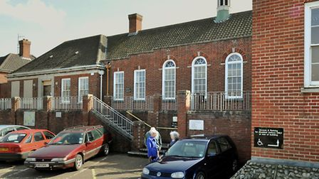 Cromer magistrates' court on its final day. Photo: Bill Smith