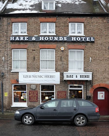 Hare and Hounds. Wisbech.