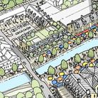 The masterplan sets out designs to revamp Thetford's riverside area.